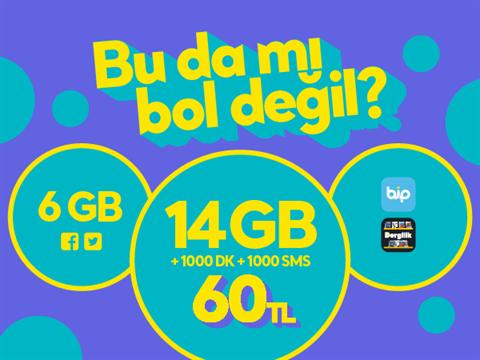 GNÇ Üçlü 20GB