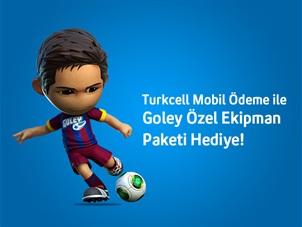 Turkcell Mobil Ödeme ile Goley Kampanyası