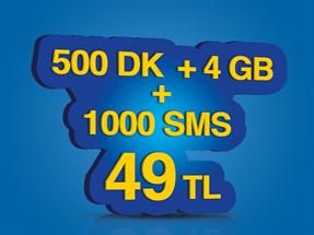 İnterneti Bol 500 Kampanyası