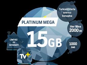 5'i 1 Yerde Platinum Mega 15 GB Kampanyası