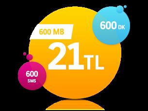 Satın Al Faturalı 600DK Plus Yıllık Abonelik Kampanyası