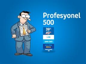 Profesyonel 500 Kampanyası