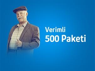 Verimli 500 Paketi Kampanyası
