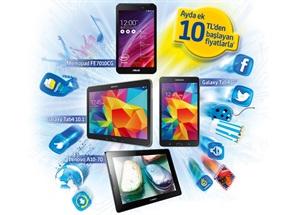 Eğlence Paketli Tablet Kampanyası
