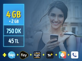 GNÇ 4 GB – Faturalı'ya Geçiş