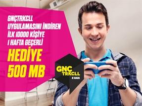 Gnçtrkcll Uygulamasını Yükleyenlere 500MB İnternet Kampanyası