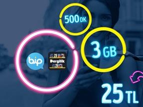 GNÇ Fırsat 3 GB Kampanyası