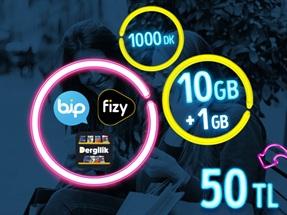 GNÇ Full 10 GB Kampanyası