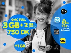 GNÇ Full 5GB