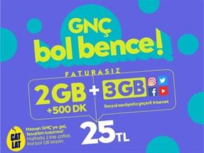 GNÇ Hoş Geldin 5GB
