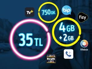Satın Al GNÇ 4 GB – Faturalı'ya Geçiş