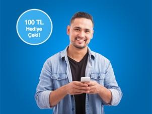 turkcell.com.tr'den Kontratlı Akıllı Telefon Alanlara 100 TL Hediye Çeki!