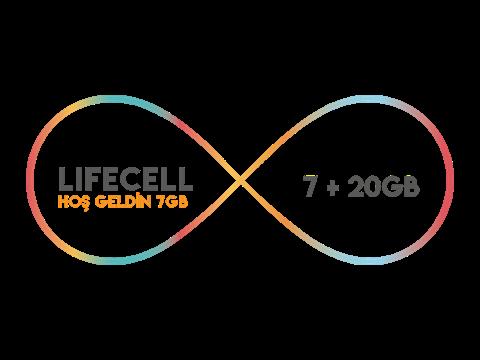 Lifecell Hoş Geldin 7GB