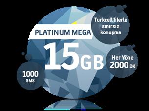Satın Al Platinum Mega 15 GB Yıllık Abonelik Kampanyası