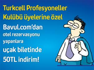 Turkcell Profesyonel Kulübü Üyelerine Bavul.com'da İndirimli Uçak Bileti