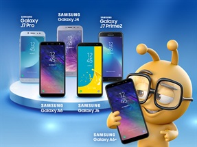 Samsung Peşin Fiyatına 12 Ay Akıllı Telefon Kampanyası
