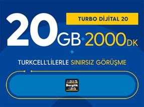 Turbo Dijital 20 Kampanyası