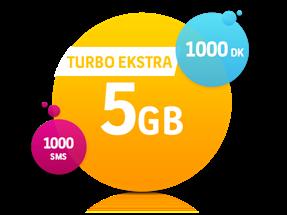 Turbo Ekstra 5 GB Yıllık Abonelik Kampanyası