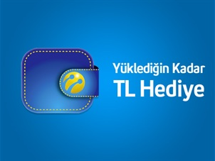Turkcell Cüzdan TL Yükleme Kampanyası