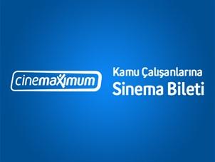 Turkcell'li Kamu Çalışanlarına Cinemaximum'da 1 Bilet Alana 1 Bilet Hediye!