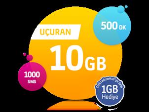 Uçuran 10 GB Paketi