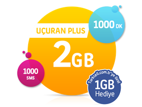 Uçuran 2 GB Plus Paketi