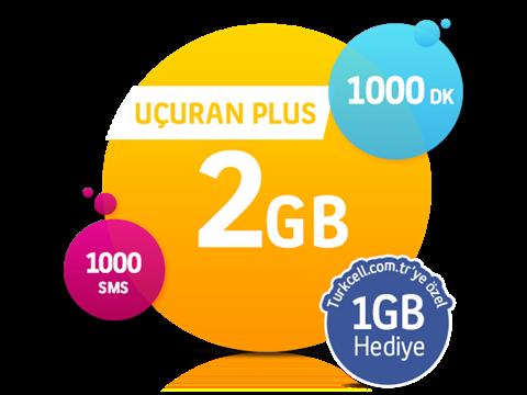 Uçuran 2 GB Plus Paketi