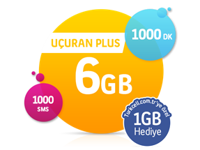 Uçuran 6 GB Plus Paketi