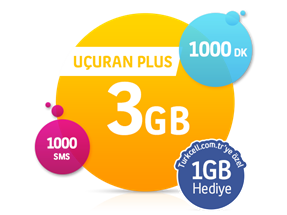 Uçuran 3 GB Plus Paketi