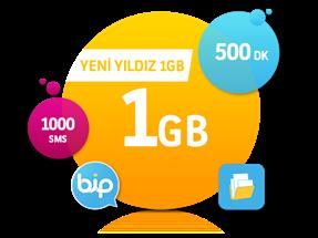 Yeni Yıldız 1 GB Paketi