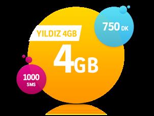 Yıldız 4 GB Paketi