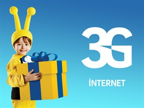 12 Ay x 250 MB İnternet