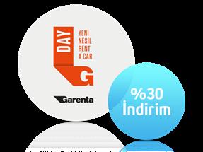 Garenta'da %30 İndirimli Araç Kiralama