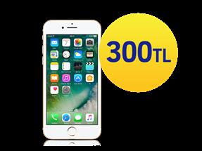 Seçili iPhone modellerinde 300 TL indirim