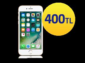 Seçili iPhone modellerinde 400 TL indirim