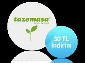 Tazemasa.com'da 20 TL indirim