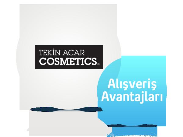 Tekin Acar Cosmetics'de %20 İndirim!