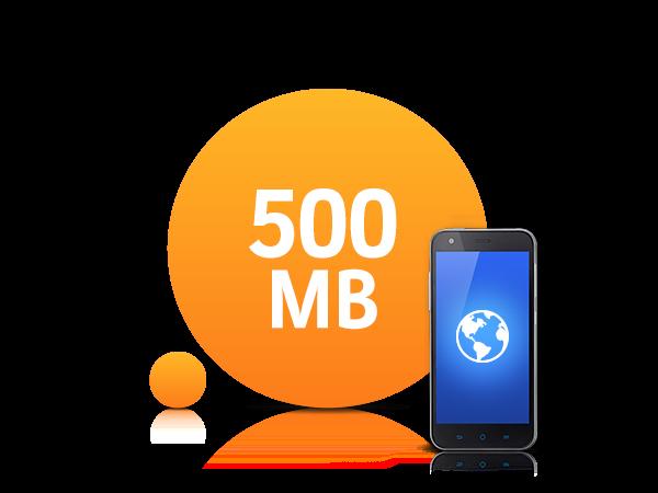 500 MB