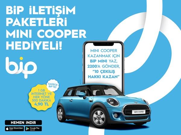 Mini Cooper Kazandıran BiP İletişim Paketleri