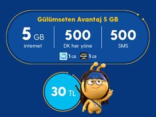 Satın Al Gülümseten Avantaj 5 GB Paketi
