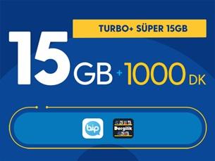Satın Al Turbo+ Süper 15GB