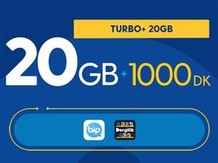 Satın Al Turbo+ 20GB