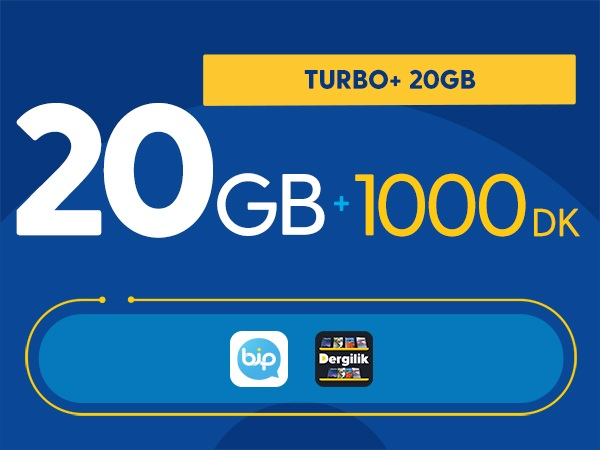 Turbo+ 20GB