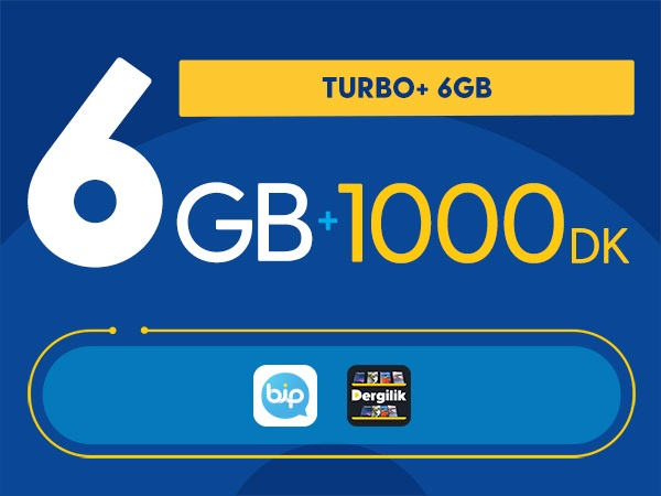 Turbo+ 6GB