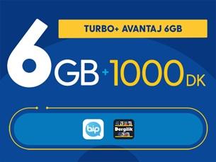 Satın Al Turbo+ Avantaj 6GB
