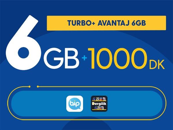Turbo+ Avantaj 6GB
