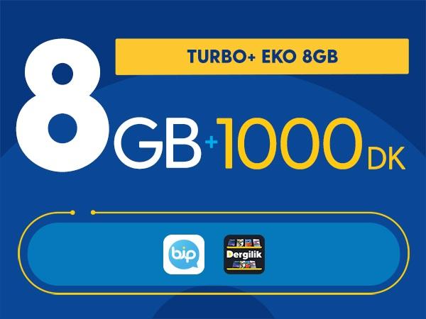Turbo+ Eko 8GB