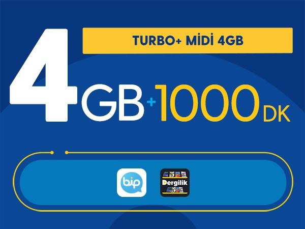 Turbo+ Midi 4GB