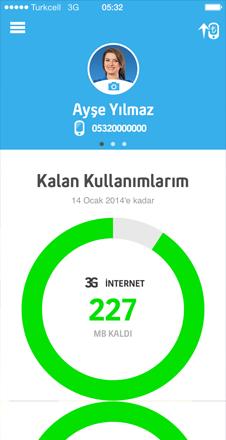 Turkcell Hesabım Uygulaması