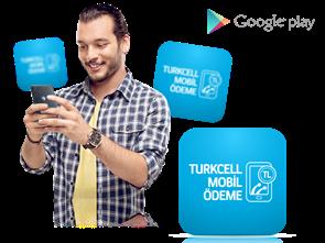 Google Play Store'da Turkcell Mobil Ödeme
